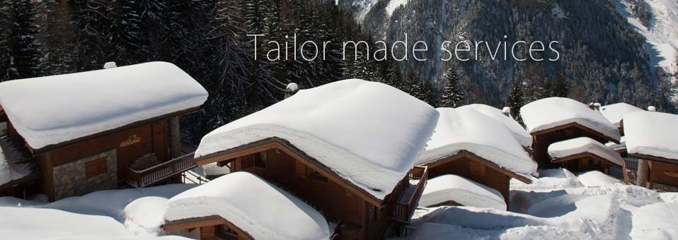 Tailor made services for your property